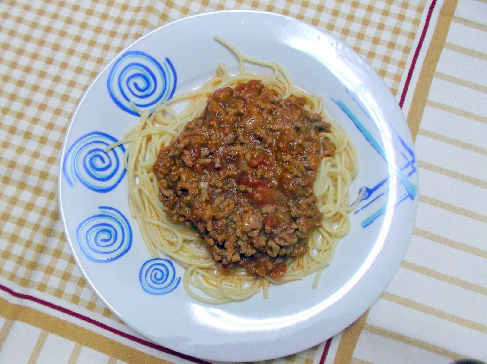 Esparguete-a-Bolonhesa