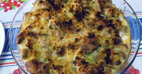 Lombo-de-Vaca-Gratinado-com-Cogumelos
