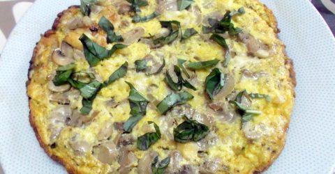 Omeleta-de-Cogumelos
