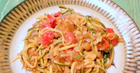 Esparguete-de-Courgette