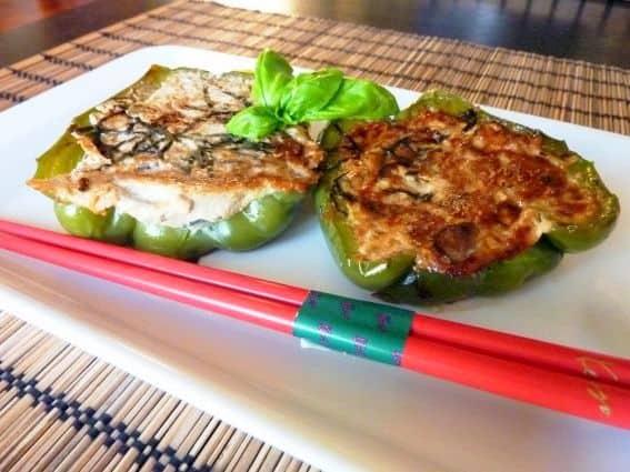 Pimentos-Verdes-Recheados-de-Tofu