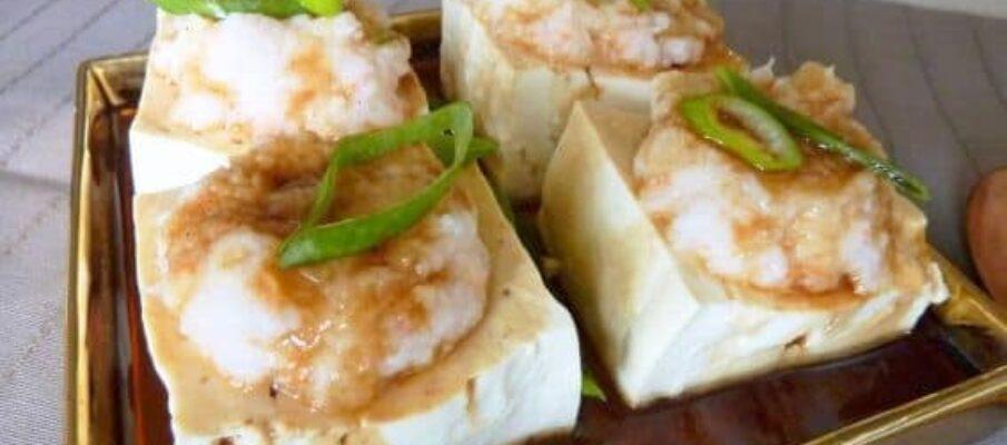 Tofu-a-Vapor-com-Pasta-de-Camarao