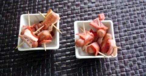 Salsichas-Coktail-com-Bacon